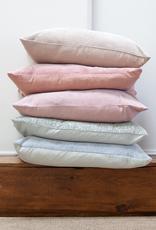 Velvet Pillow - Raspberry