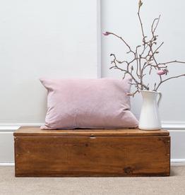Velvet Pillow - Blush