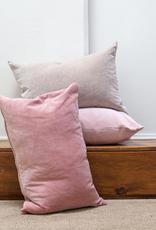 Velvet Pillow - Taupe