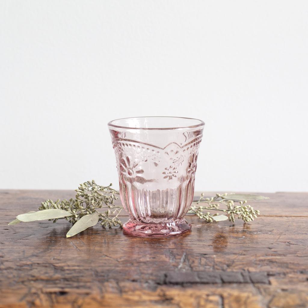 Pink Glass Tumbler