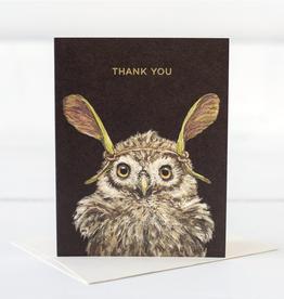 Card - Thank You Owl