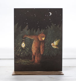 Card - Bear + Owl Friends