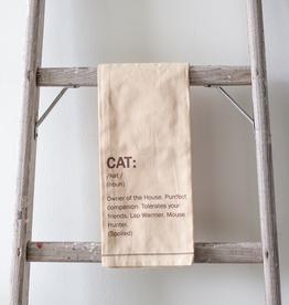 Definition Tea Towel - Cat