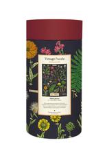 Vintage inspired Puzzle - Herbarium