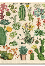 Vintage inspired Puzzle - Cacti + Succulents