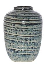 Indigo Ceramic Vase