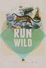 "Print - ""Run Wild"""