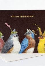 Card - Birthday Bird Party
