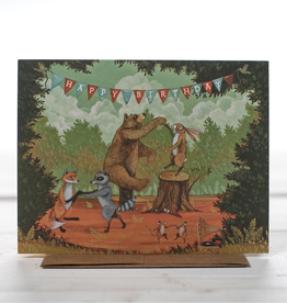 Card - Birthday In The Forest