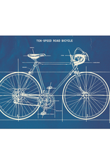 Card - Bicycle Blueprint