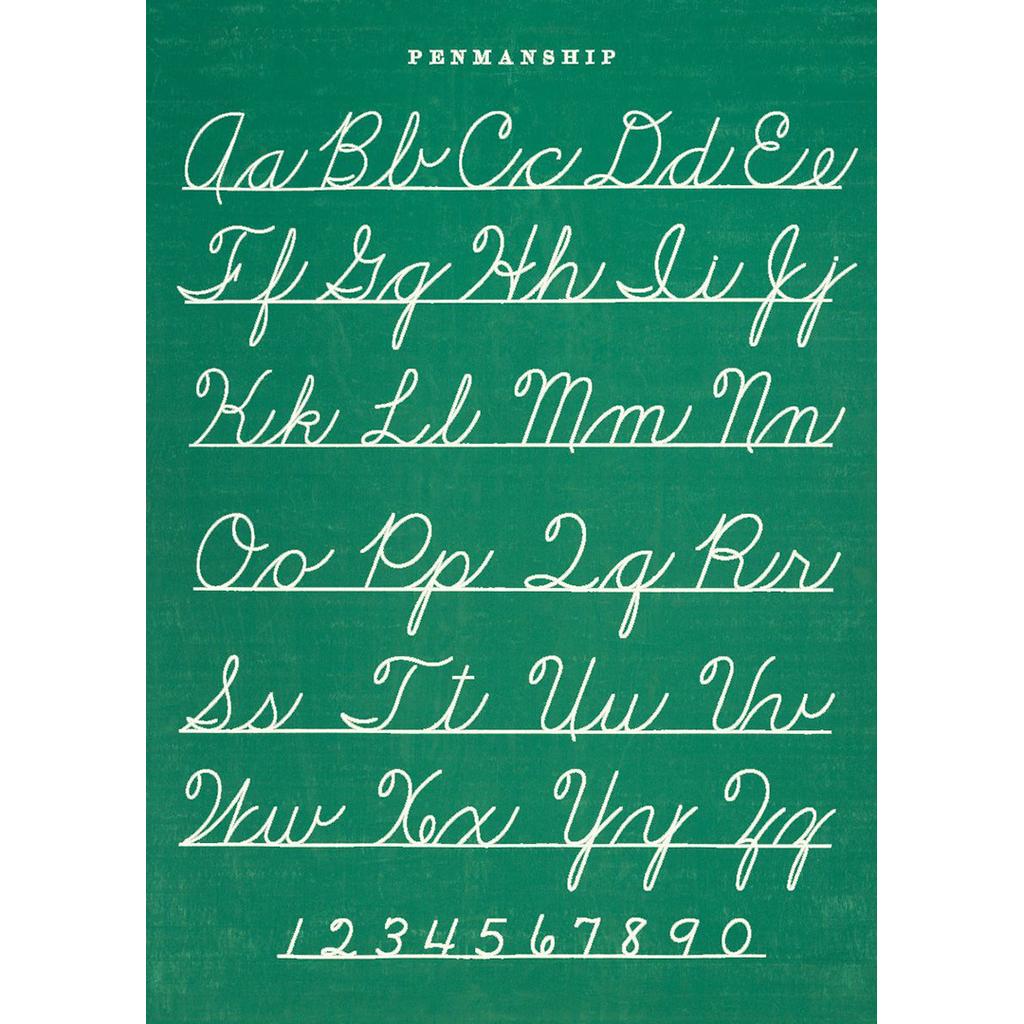 Poster - Penmanship