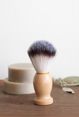 Wood Handled Shave Brush
