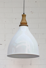 Ella Pendant Lamp - Gloss White