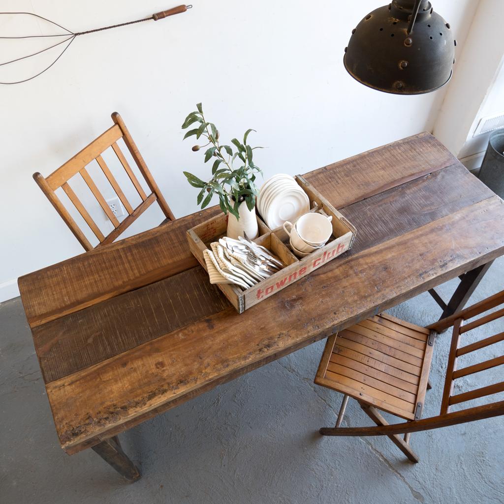 Rustic Hardwood Table