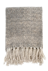 Cotton Tassle Throw - Dotty
