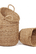 Round Seagrass Storage Basket