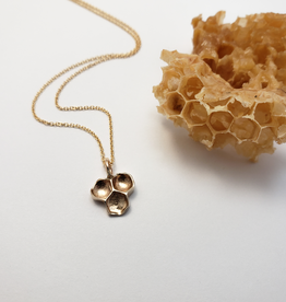 Honeycomb Pendant - Brinze
