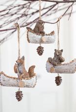 Forest Animal Voyageur Ornament