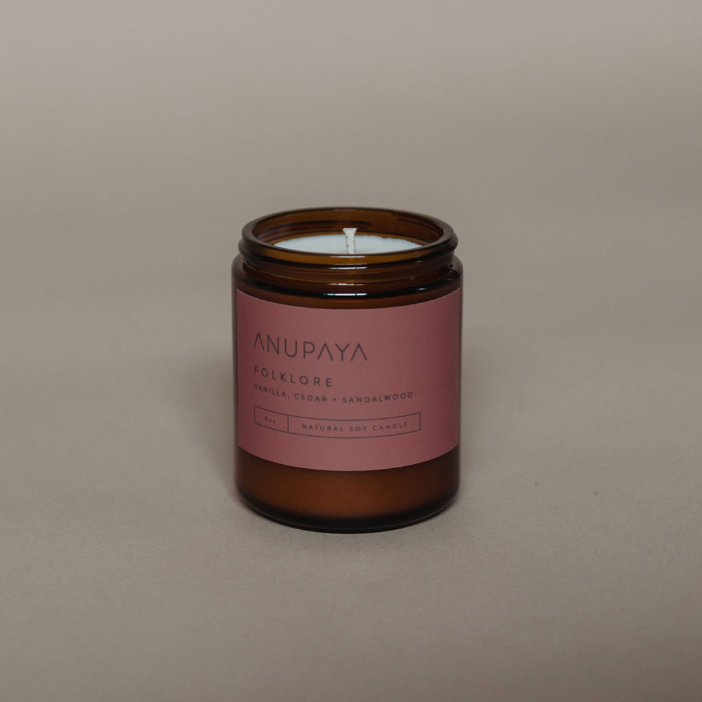 Anupaya Soy Candle - Folklore
