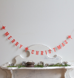 Paper Merry Christmas Garland