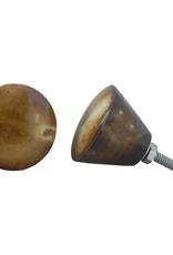 Round Vintage Bone Knob