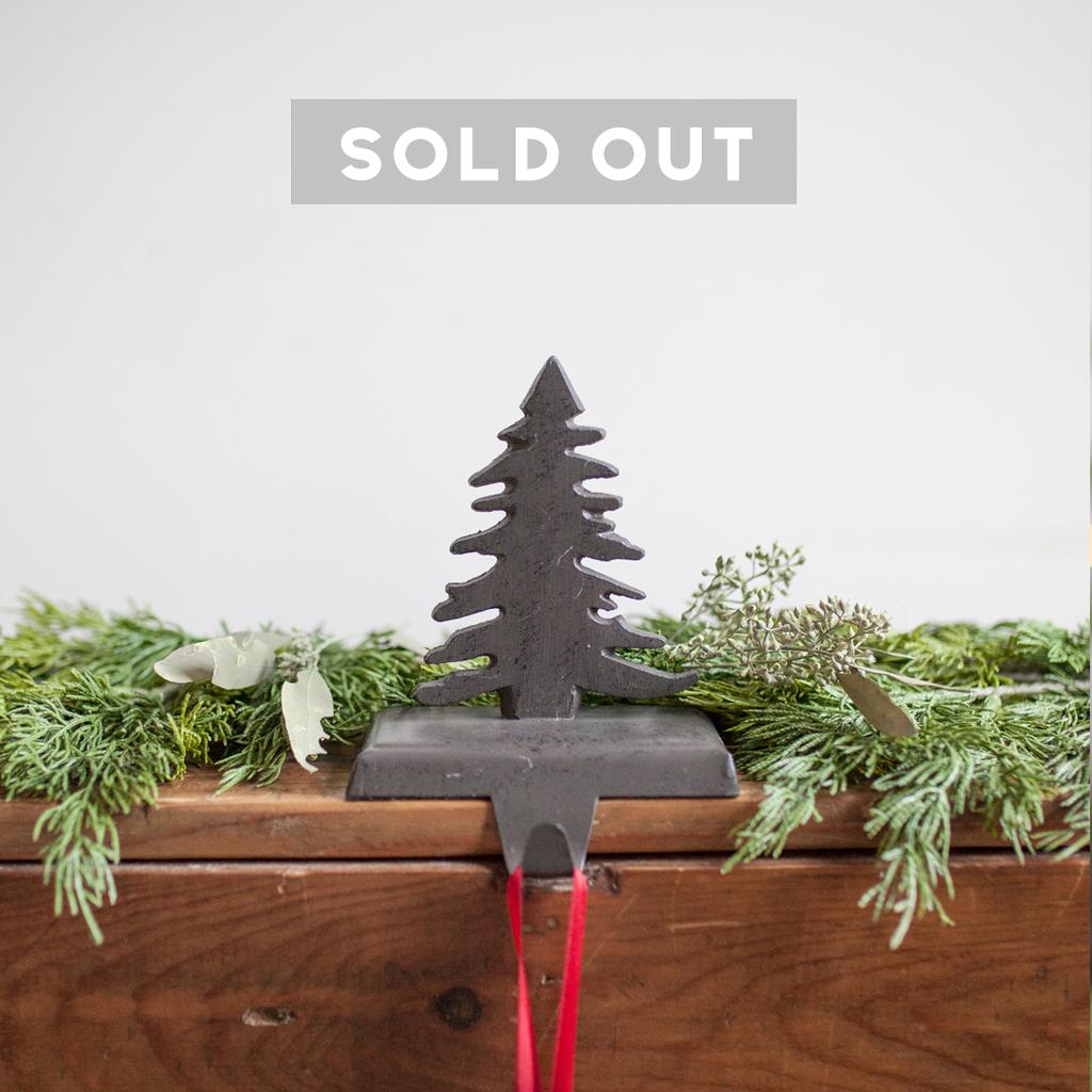 Fir Tree Stocking Holder