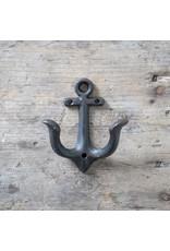 New Cast Iron Anchor Hook – Black