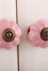 Ceramic Melon Knob – Pink
