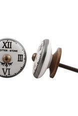 Ceramic Knob – Clock Face