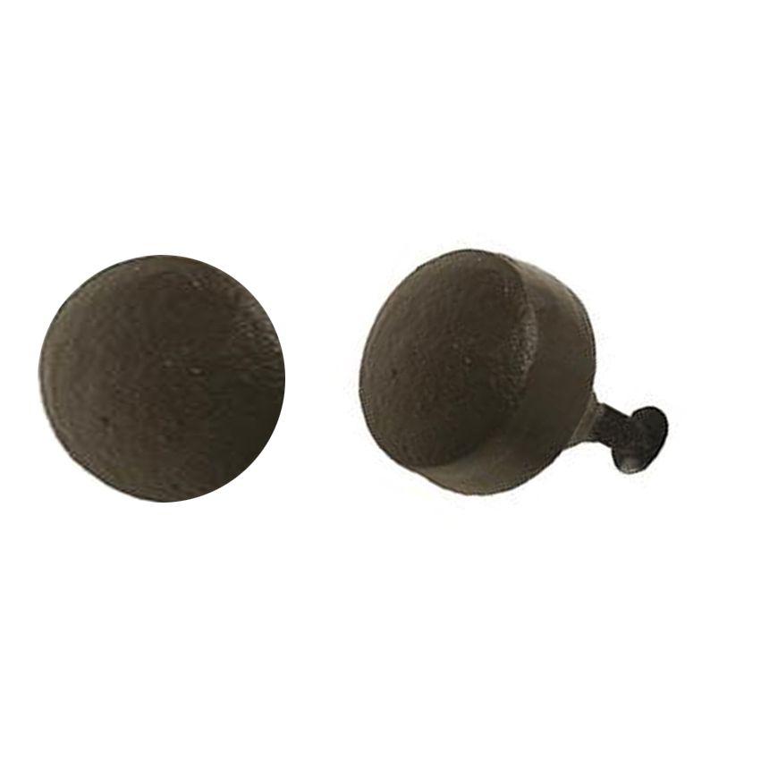 New Round Button Knob – Cast Iron