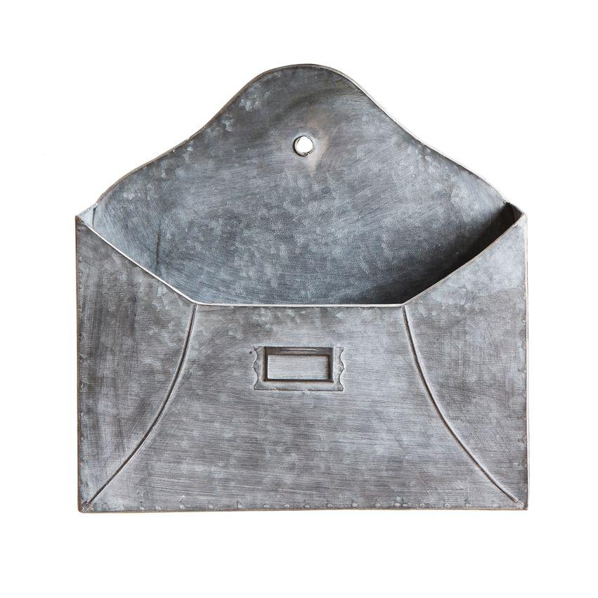 New Metal Envelope Wall Pocket