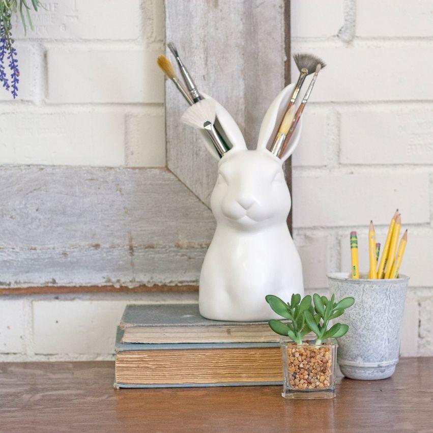 Ceramic Rabbit Vase