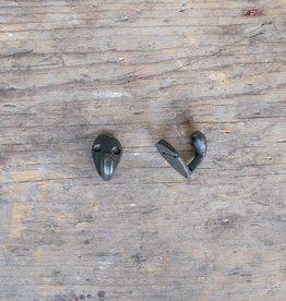 Cast Iron Mini Hook - Black