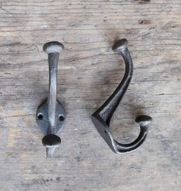 Cast Iron Nora Hook - Brown