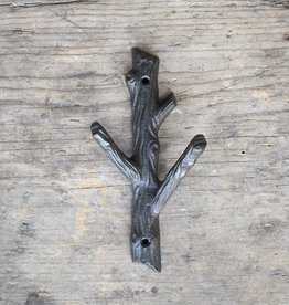 Cast Iron Branch Hook  – Medium