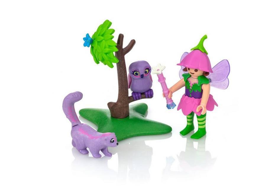Playmobil Playmobil 9140 Fairy Girl with Animal Friends