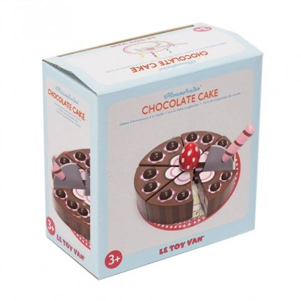 Le Toy Van Le Toy Van TV277 Chocolate Birthday Cake