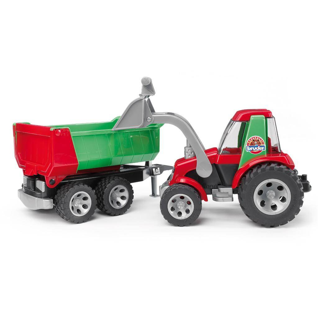 Bruder Bruder 20116 Roadmax Tractor with Frontloader and Rear Tipper