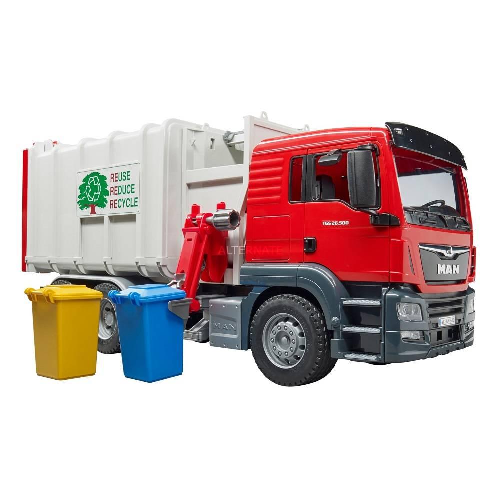 Bruder Bruder 03761 MAN TGS Side Loading Garbage Truck
