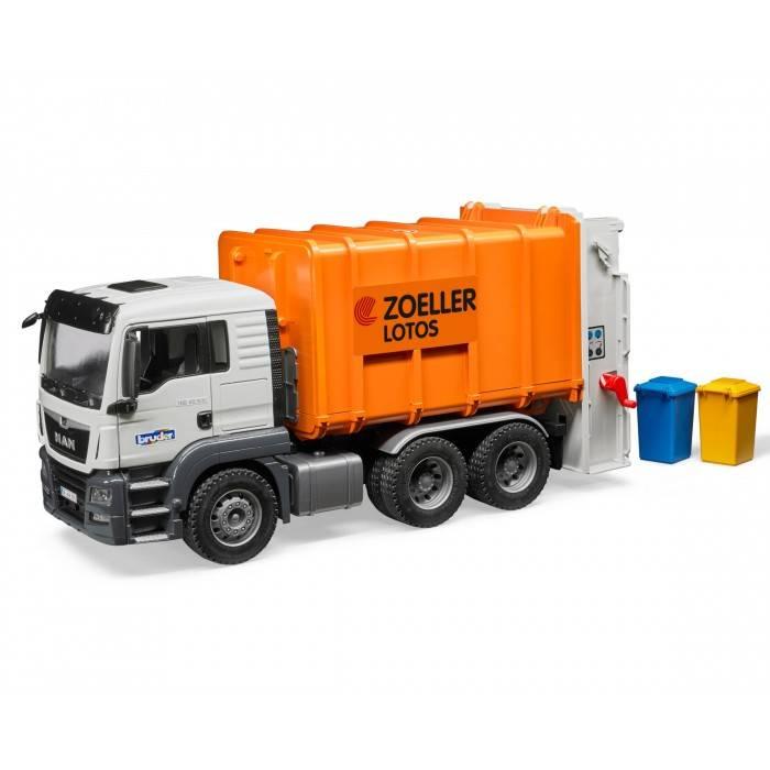 Bruder Bruder 03762 MAN TGS Rear-Loading Garbage Truck