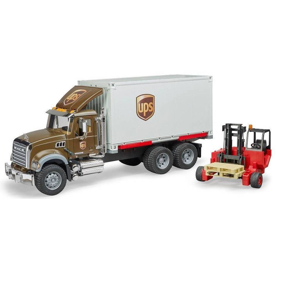 Bruder Bruder 02828 Mack Granite UPS Logistics Truck
