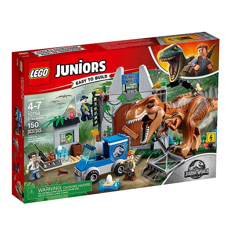 Lego 10758 L'évasion du Tyrannosaure
