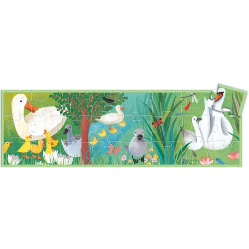 Djeco Djeco 07202 Silhouette Puzzle / The ugly duckling / 24 pcs