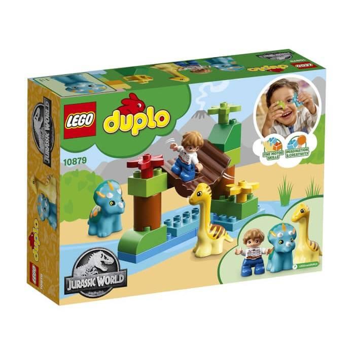 Lego 10879 Duplo Jurassic World Gentle Giant Petting Zoo