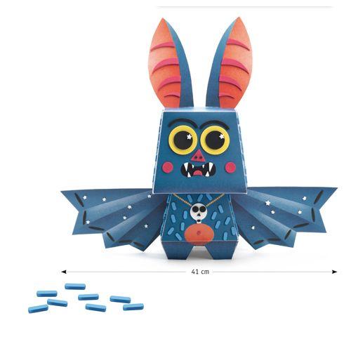 Djeco DJECO 09669 Arty Paper - Batmouss