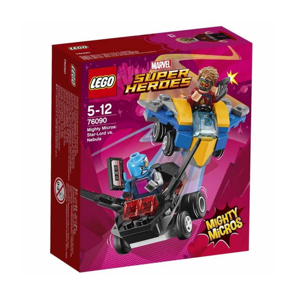 Lego Super Heroes 76090 Mighty Micros : Star-Lord contre Nebula