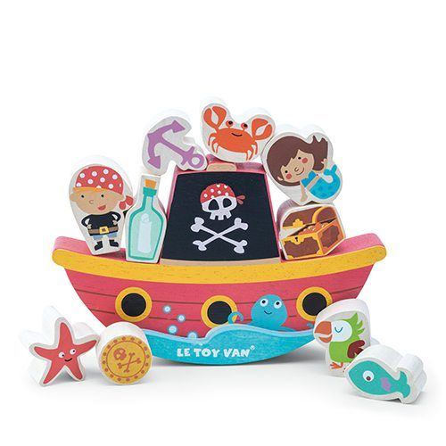 Le Toy Van Le Toy Van TV345 Pirate Balance Rock N Stack