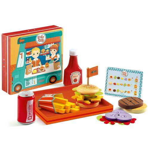 Djeco DJECO DJ06635 Hamburgers - Ricky et Daisy