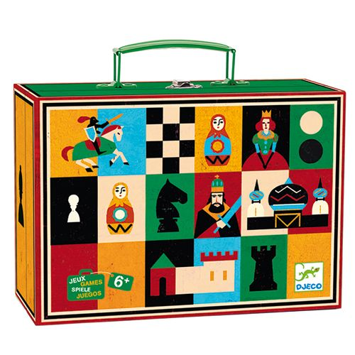 Djeco Djeco 05225 Chess & Checkers