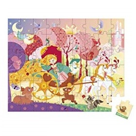 Janod Janod Princess Puzzle 54pcs